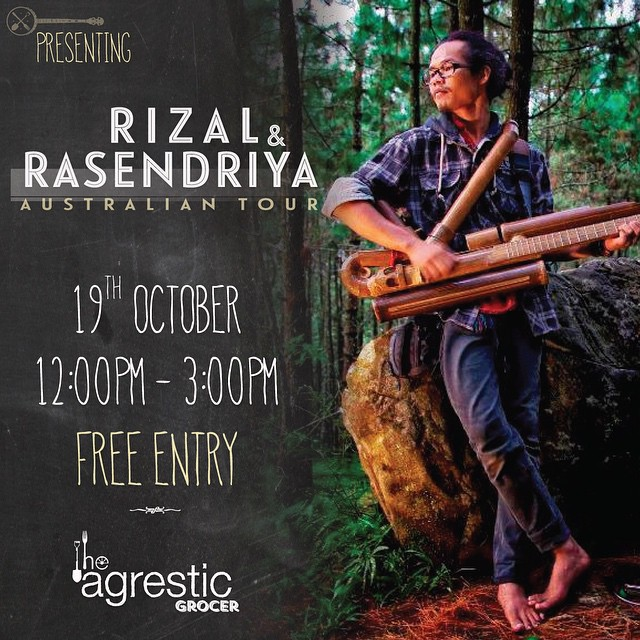 Rizal & Rasendriya at Agrestic Grocer